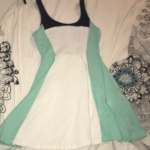 Express fit and flare size small